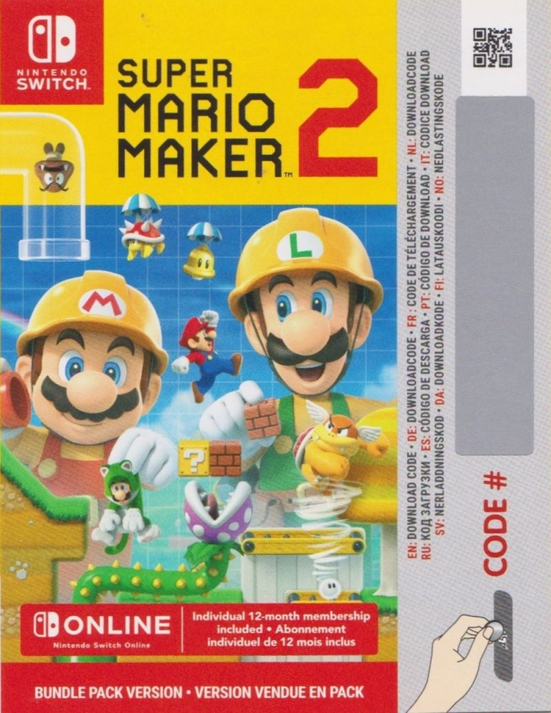 Super Mario Maker 2 (Limited Edition) (2019) Nintendo Switch