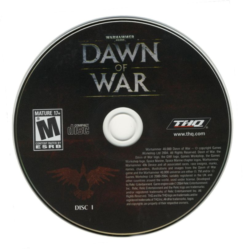 Warhammer 40,000: Dawn of War - Game of the Year Windows Media CD-Rom (1 of 3)