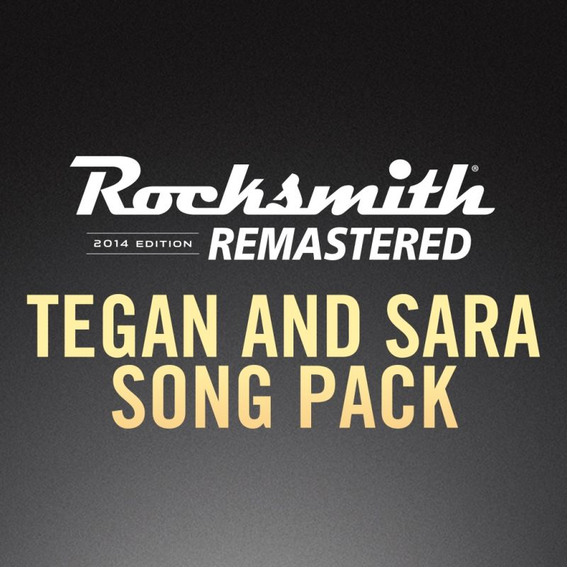 Rocksmith 2014 Edition: Remastered - Tegan and Sara Song Pack PlayStation 3 Front Cover