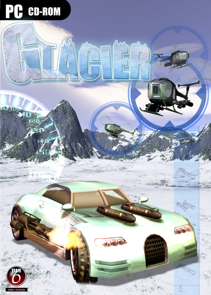 Glacier Windows Front Cover