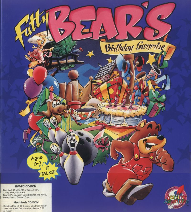 Fatty Bear's Birthday Surprise For DOS (1993)
