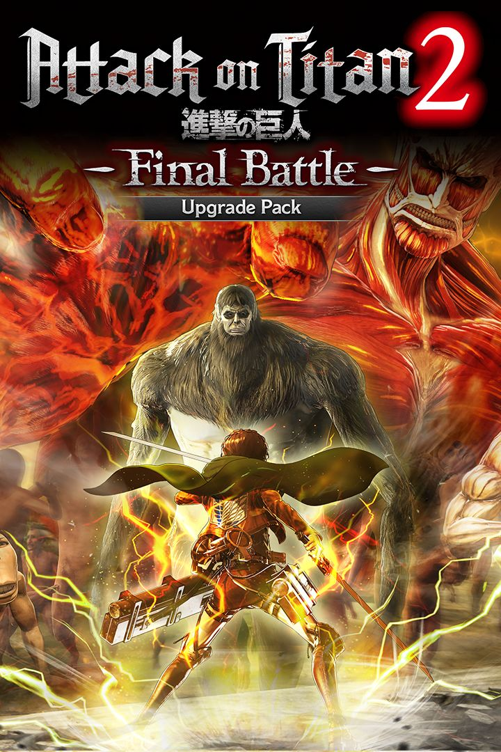 Attack on Titan 2: Final Battle - Upgrade Pack (2019) Xbox One box
