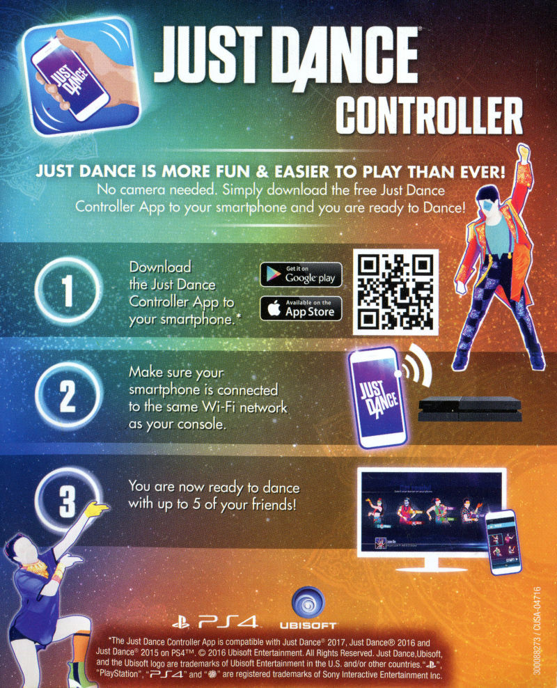 Just Dance 2017 (2017) Nintendo Switch box cover art - MobyGames