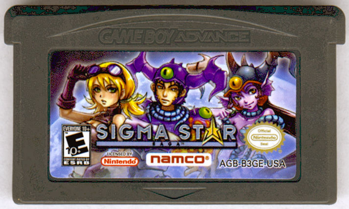 Sigma Star Saga Game Boy Advance Media