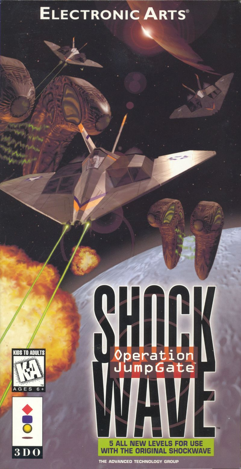 Shock Wave: Operation JumpGate 3DO Front Cover
