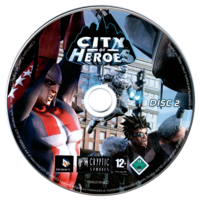 City of Heroes (Deluxe Edition) Windows Media Disc 2