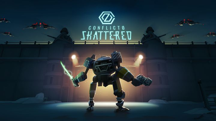 Conflict0: Shattered (2018) Oculus Go box cover art - MobyGames