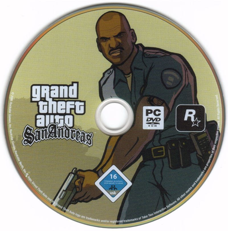 Grand Theft Auto: San Andreas Windows Media
