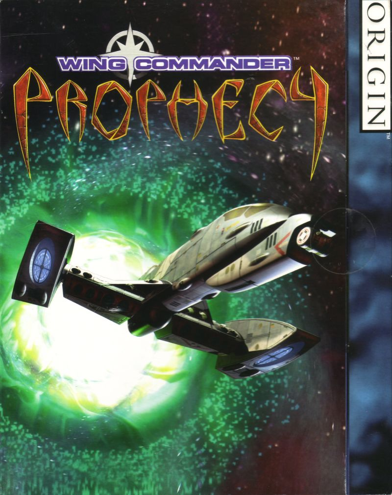 Wing Commander: Prophecy Windows Front Cover