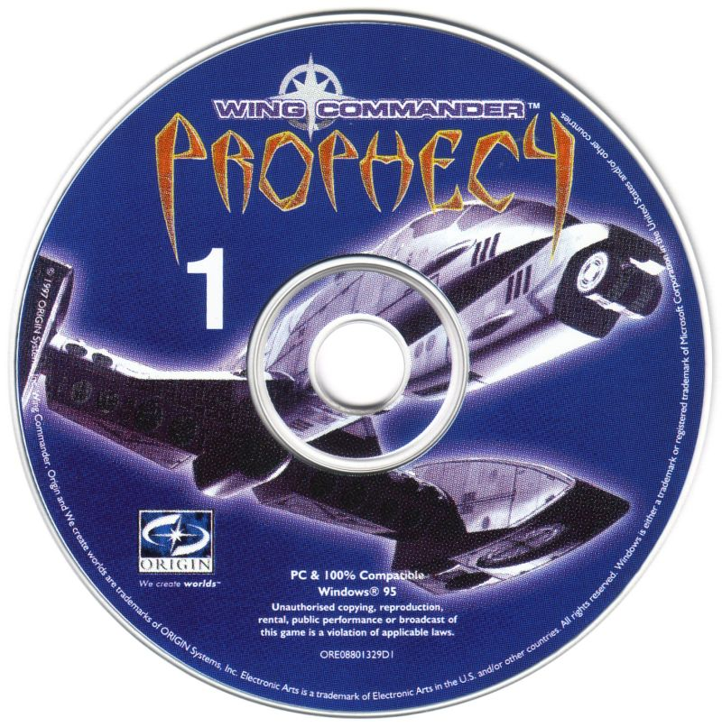 Wing Commander: Prophecy Windows Media Disc 1