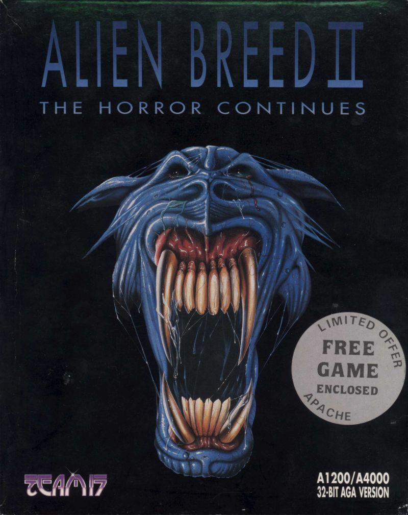 Alien Breed II: The Horror Continues Amiga Front Cover