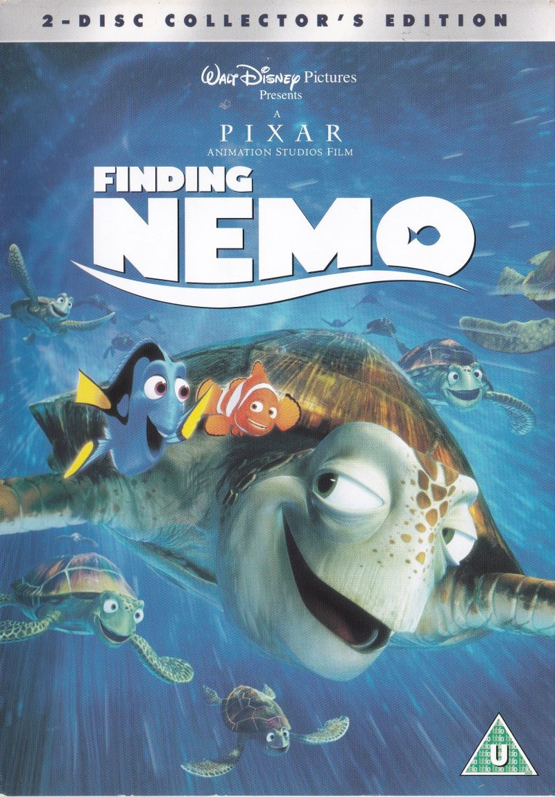 Finding Nemo (Included Game) for DVD Player (2003) - MobyGames