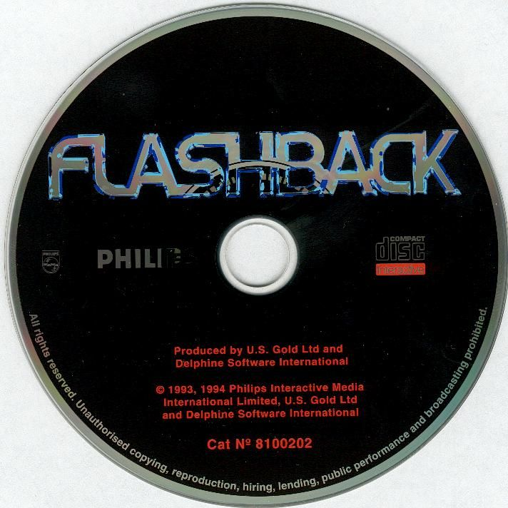 Flashback: The Quest for Identity CD-i Media