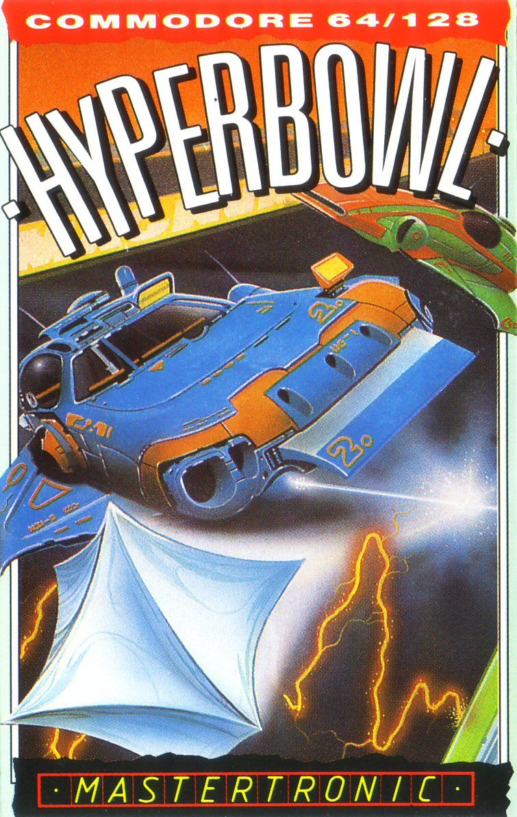 Hyperbowl Commodore 64 Front Cover