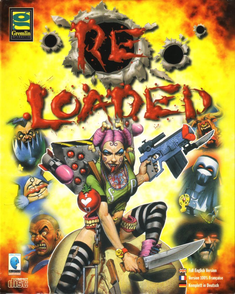 Re-Loaded DOS Front Cover