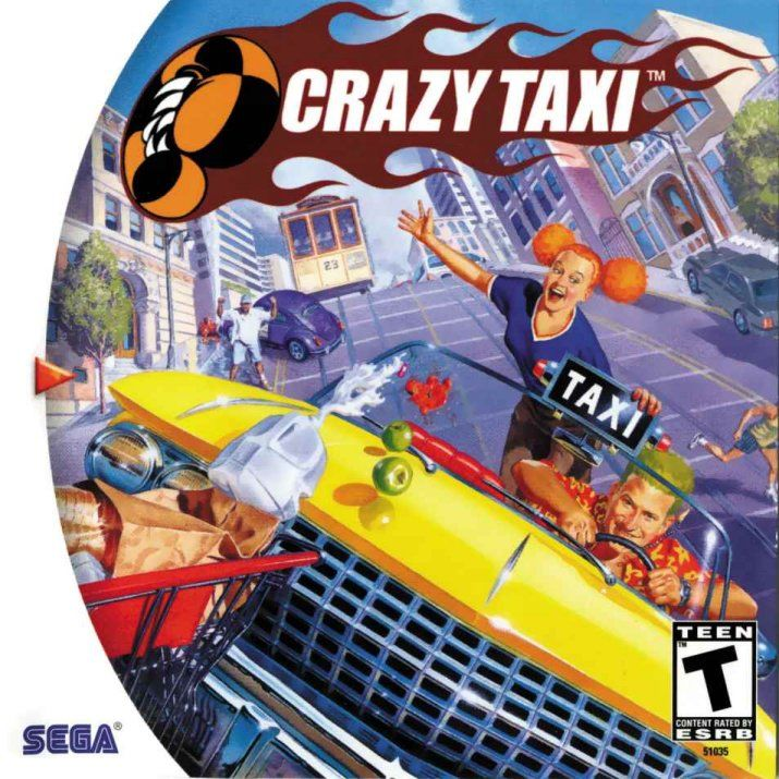 Image result for crazy taxi cover