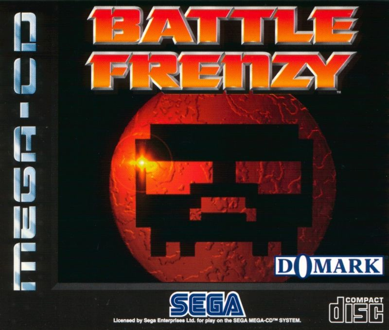 Battle Frenzy SEGA CD Front Cover
