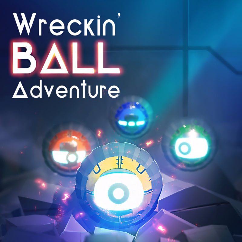 Wreckin' Ball Adventure Nintendo Switch Front Cover