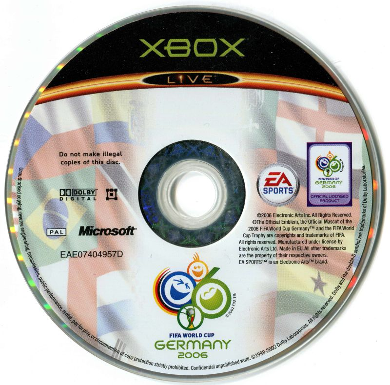FIFA World Cup: Germany 2006 Xbox Media