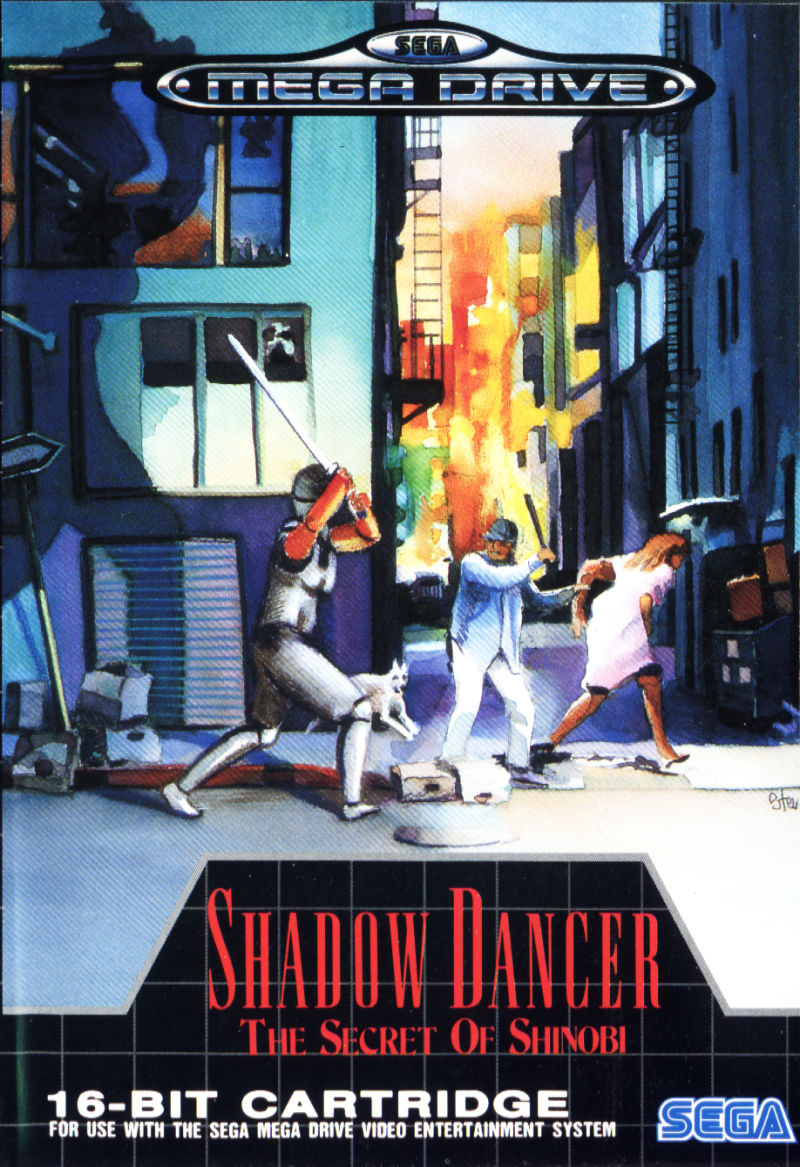 Shadow Dancer: The Secret of Shinobi Genesis Front Cover