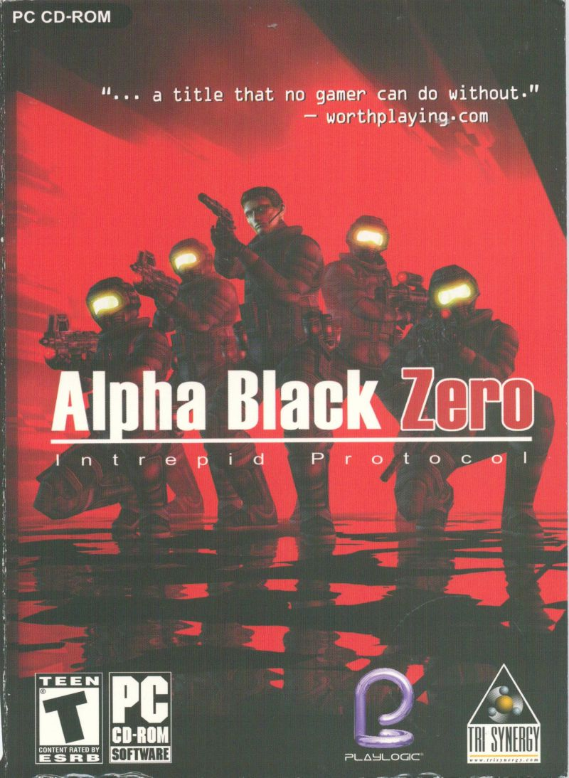Alpha Black Zero: Intrepid Protocol Windows Front Cover