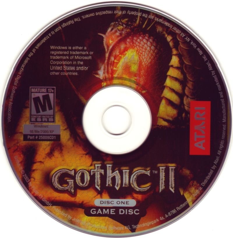 Gothic II Windows Media Disc 1