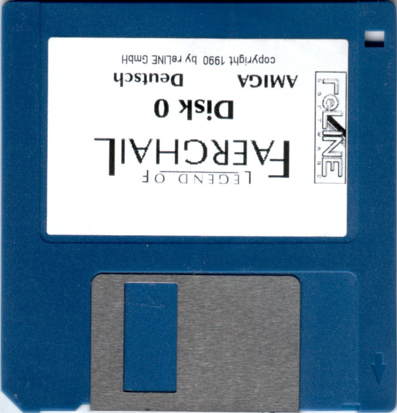 Legend of Faerghail Amiga Media Disk 0 (three disks, 0-2)