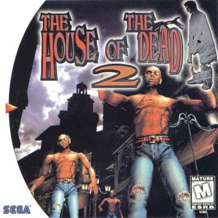 The House of the Dead 2 Dreamcast Front Cover
