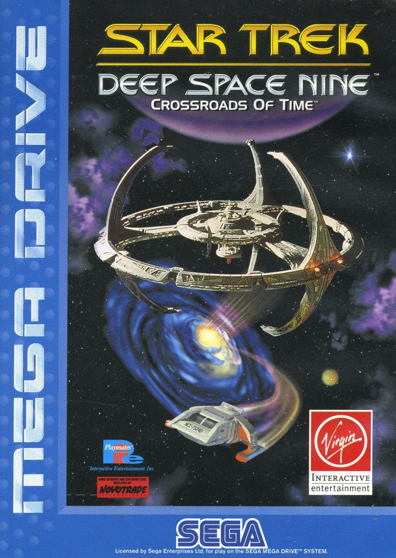 Star Trek: Deep Space Nine - Crossroads of Time Genesis Front Cover