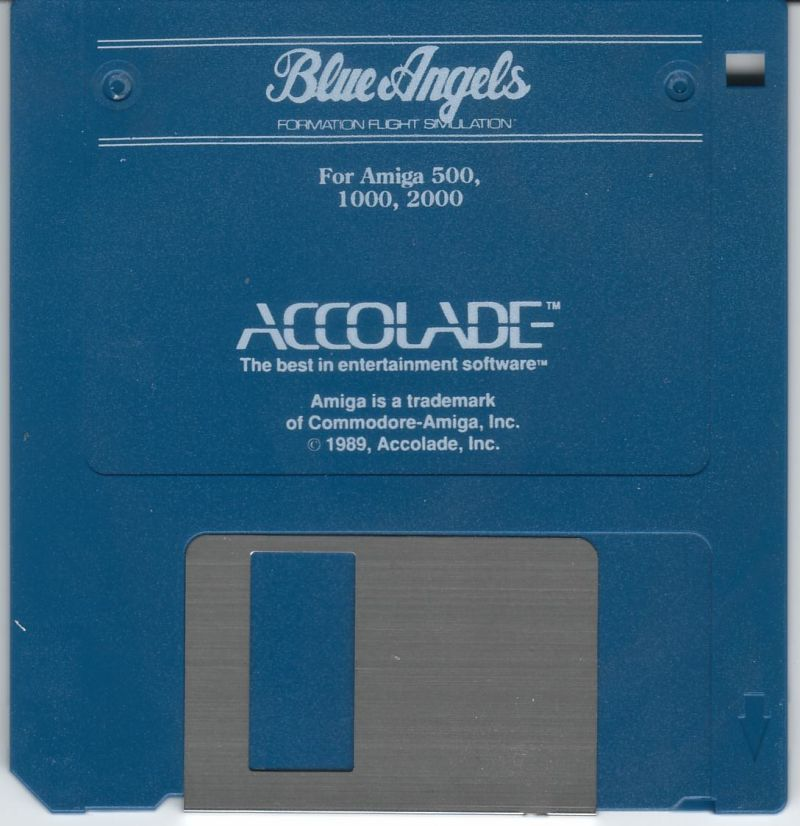 Blue Angels: Formation Flight Simulation Amiga Media