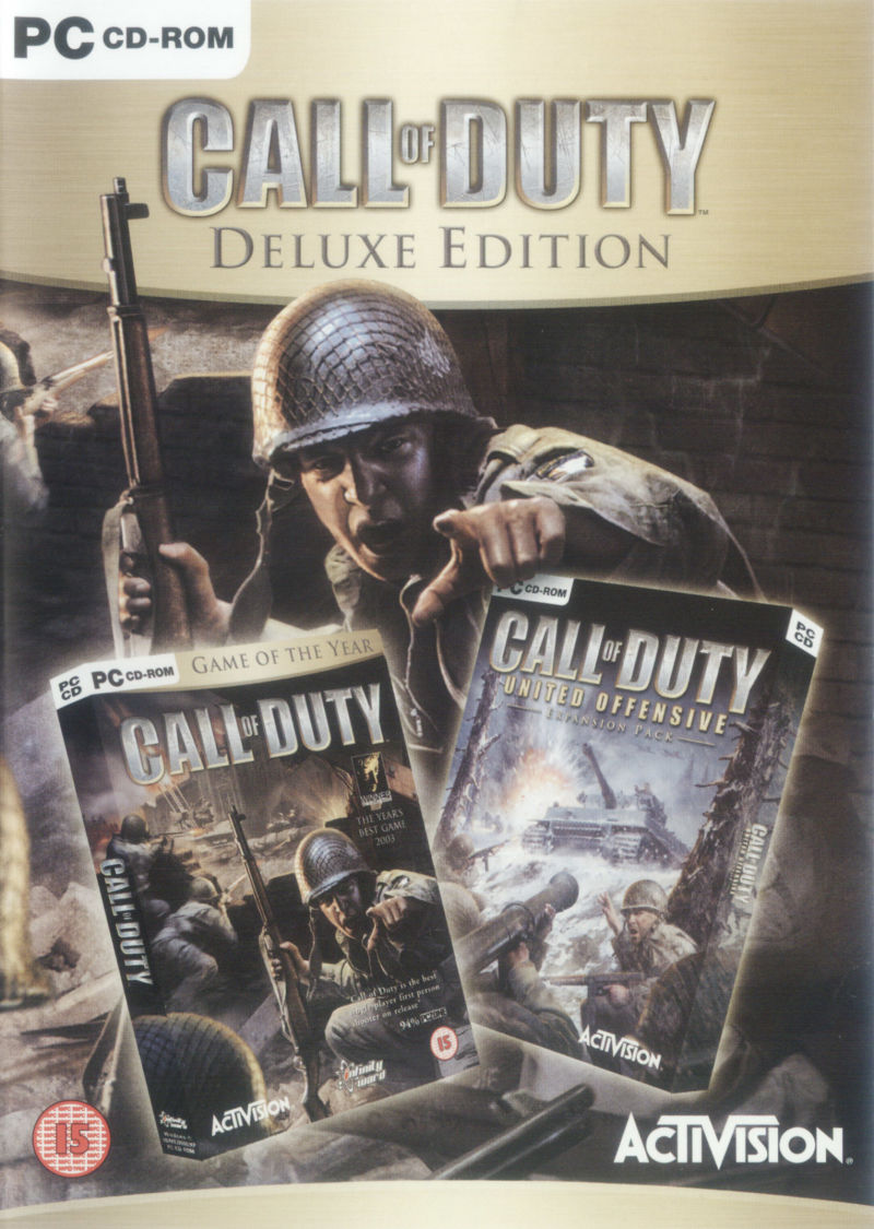 Call of Duty: Deluxe Edition Windows Front Cover