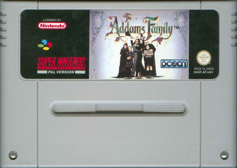 The Addams Family SNES Media