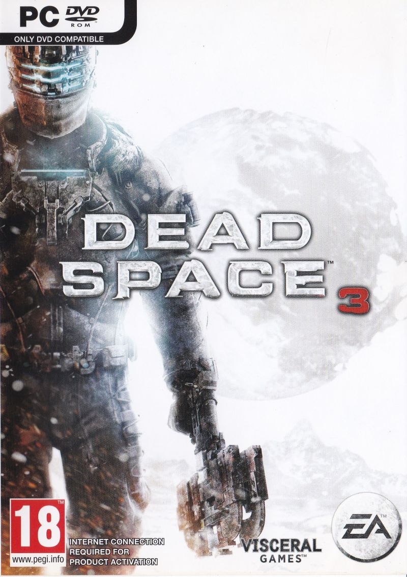 Dead Space 3 2013 Windows Box Cover Art Mobygames