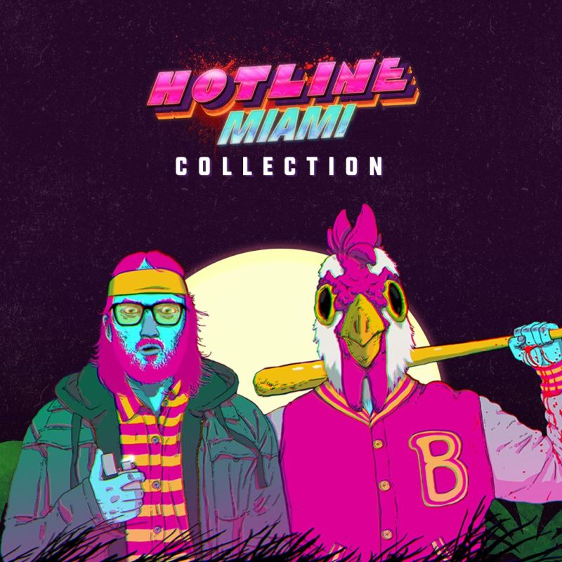 Hotline Miami Collection  PlayStation 4 Front Cover