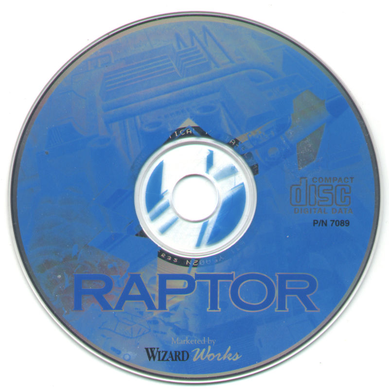Raptor: Call of the Shadows DOS Media