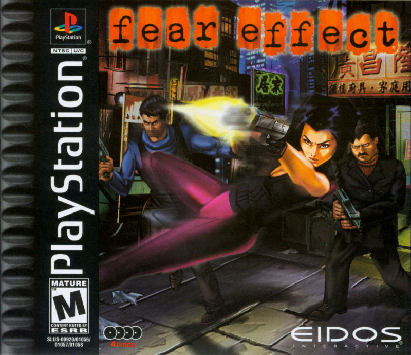 Fear Effect PlayStation ROM Download