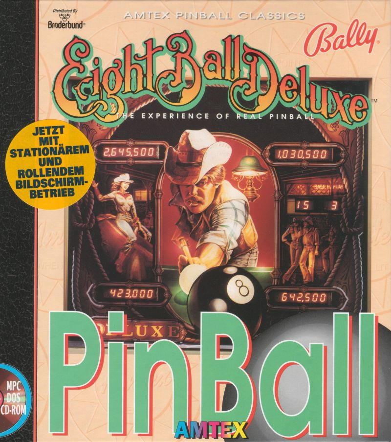 Eight Ball Deluxe for DOS (1993) - MobyGames