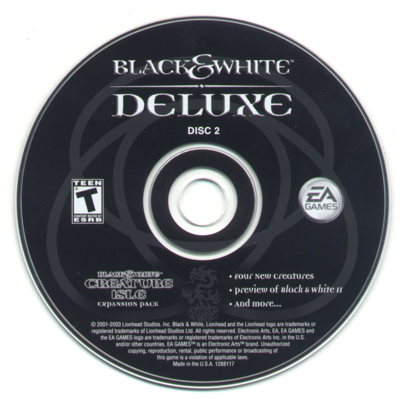 Black & White: Deluxe Windows Media Disc 2 - Creature Island Expansion