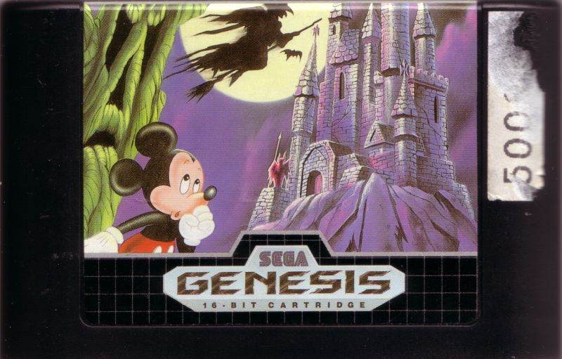 Castle of Illusion starring Mickey Mouse Genesis Media