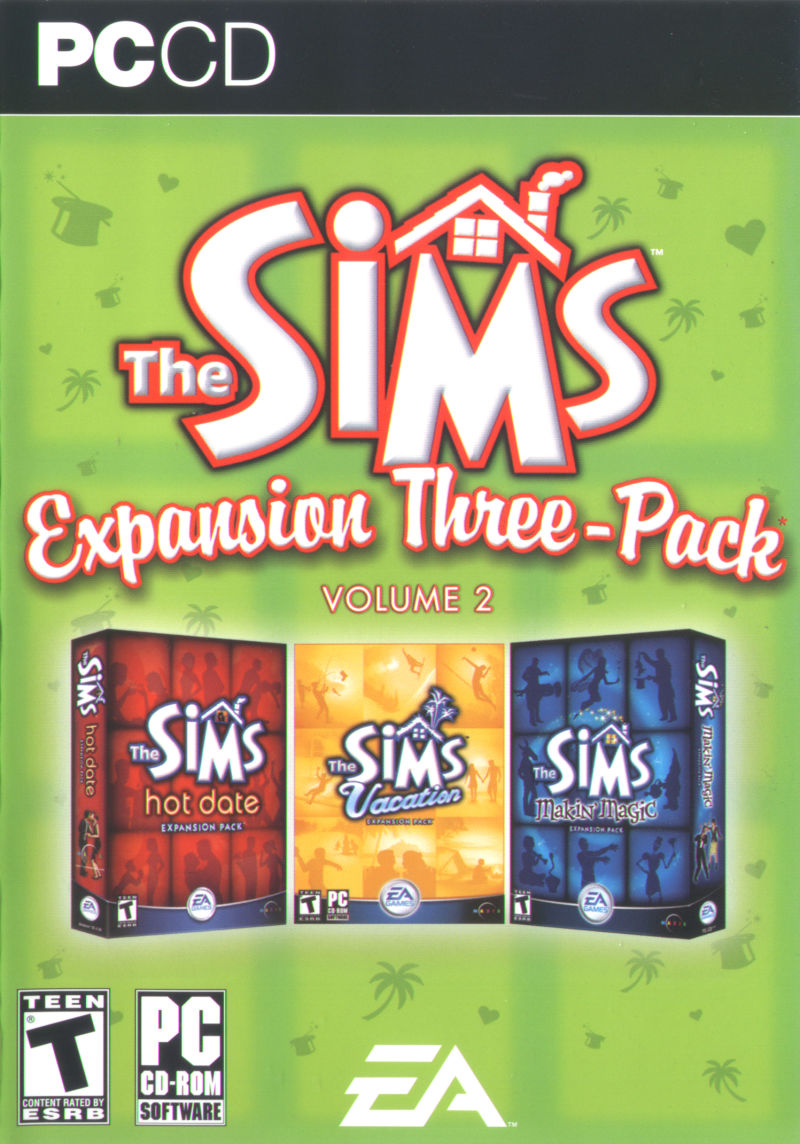 The Sims: Expansion Three-Pack - Volume 2