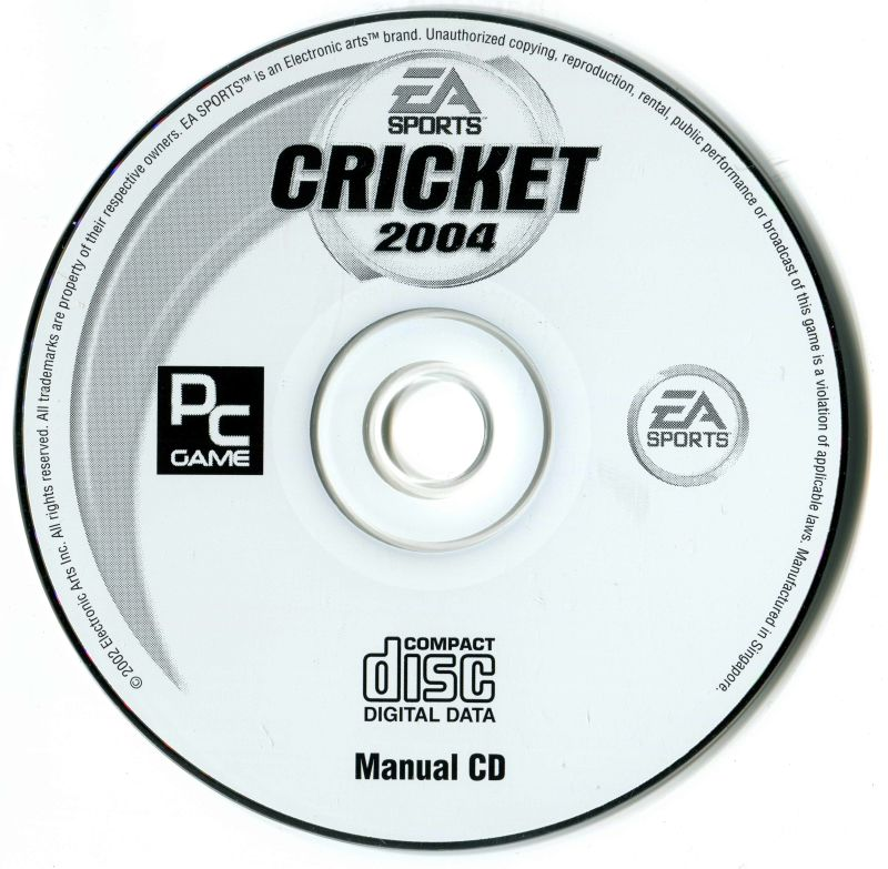 Cricket 2004 (2004) PlayStation 2 box cover art - MobyGames