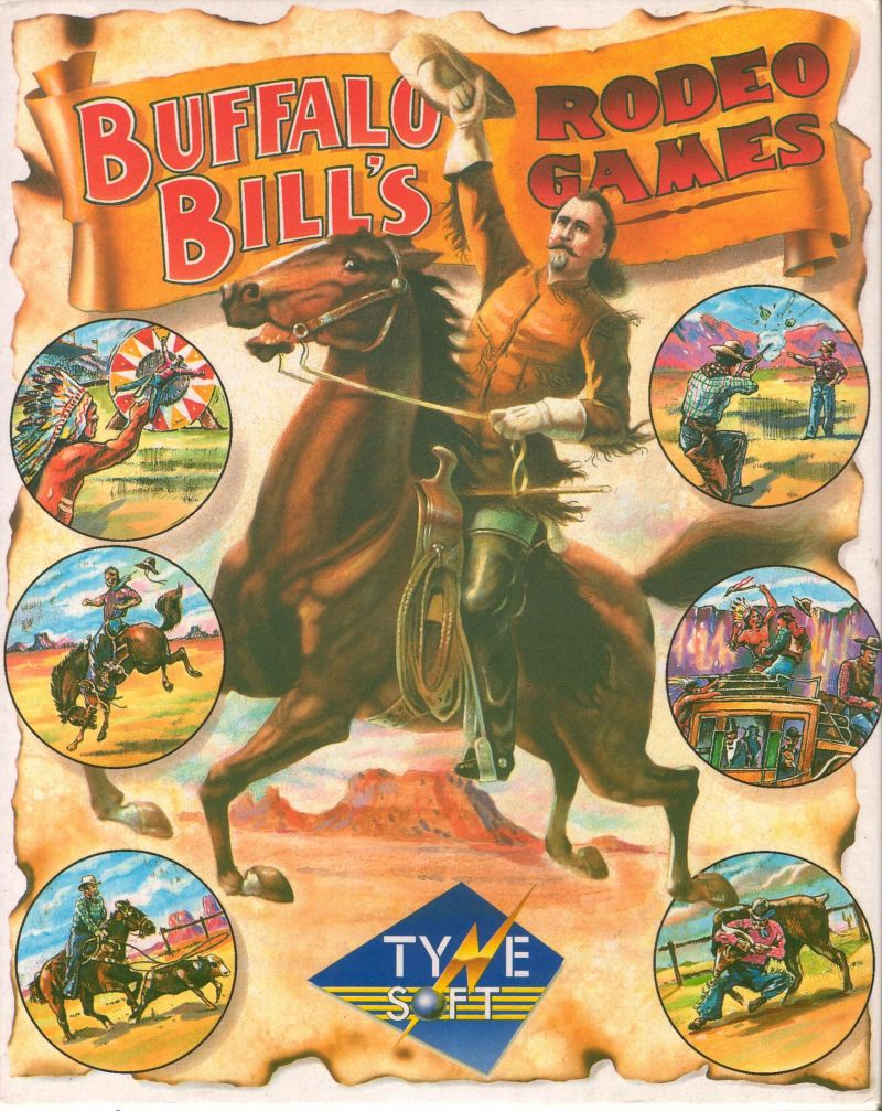 Buffalo Bill's Wild West Show Amiga Front Cover