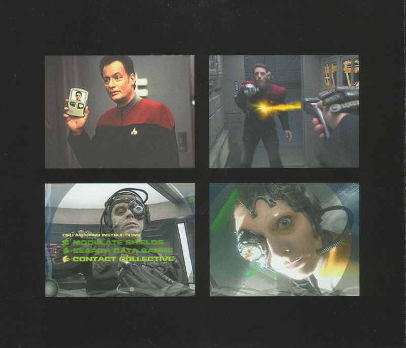 Star Trek: Borg Windows Other Jewel Case - Back