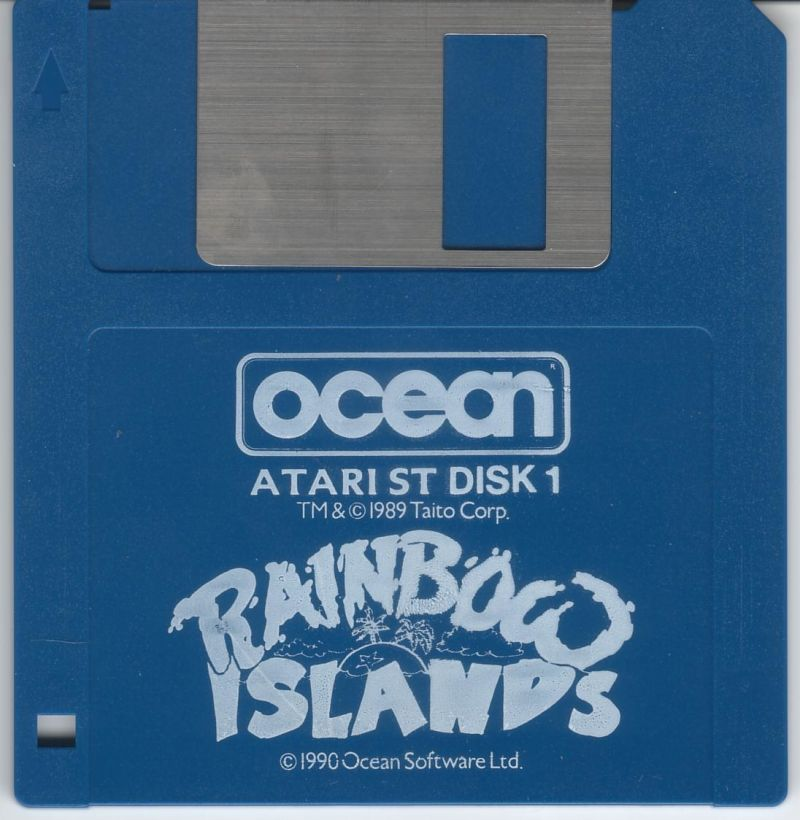 Rainbow Islands Atari ST Media Disk 1 of 2