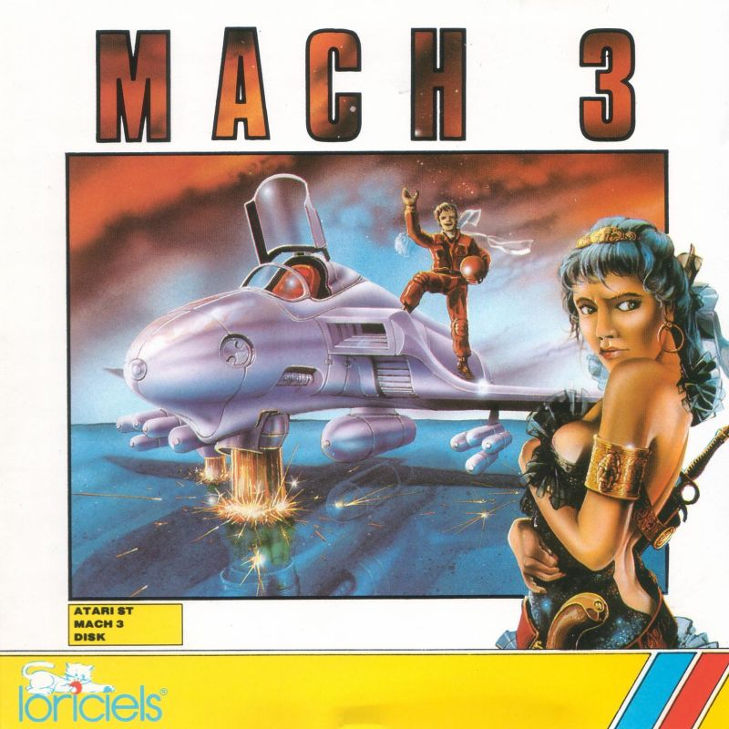 Mach 3 Atari ST Front Cover