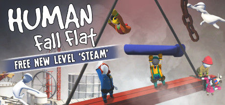 Human: Fall Flat Linux Front Cover Free New Level 'Steam'