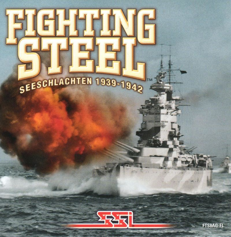 Fighting Steel: World War II Surface Combat 1939-1942 Windows Other Jewel Case - Front