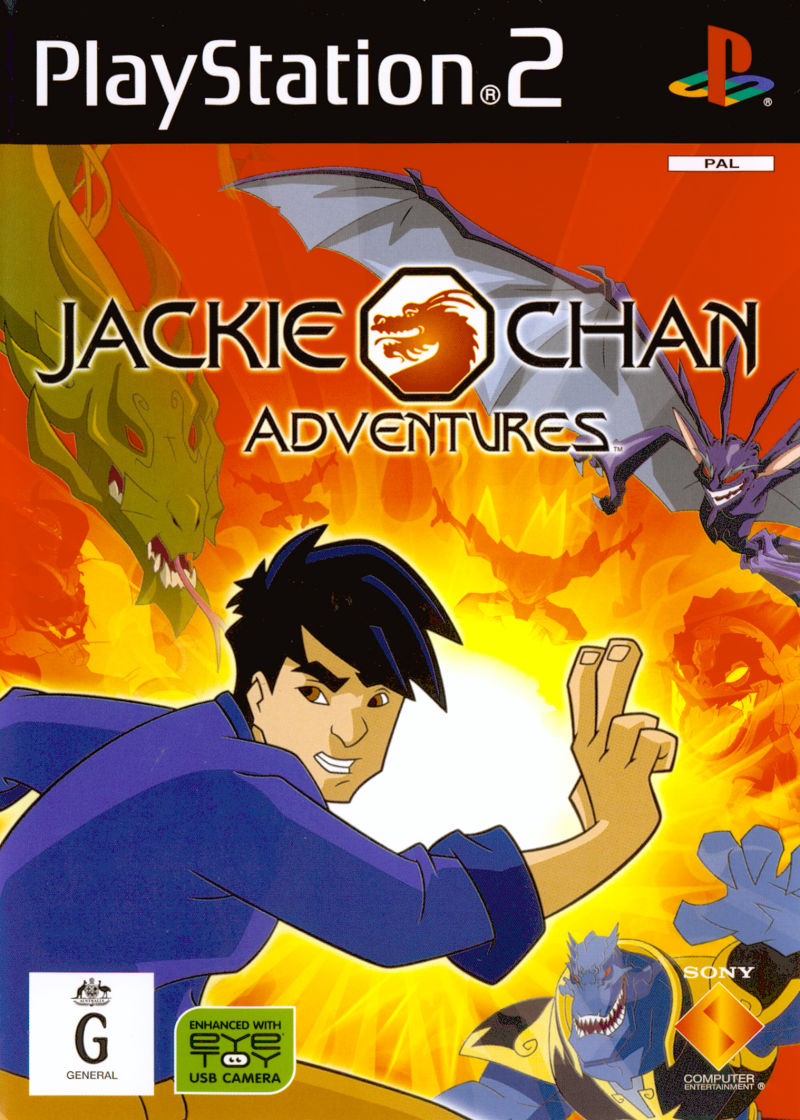 Jackie Chan Adventures PlayStation 2 Front Cover