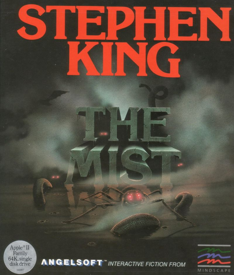 The Mist Apple II Front Cover