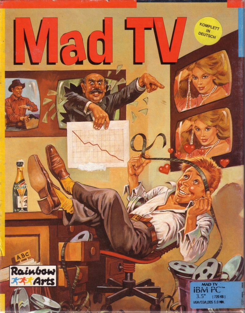 Mad TV DOS Front Cover